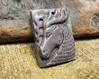 Sale #EarthDay ~ Moose in Ribbon Jasper