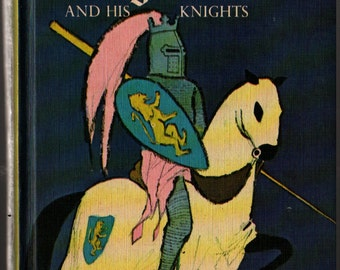 The Adventures of Pinocchio / The Story of King Arthur and His Knights  + Howard Pyle, C. Collodi & Mariano Leone + 1965 + Vintage Kids Book
