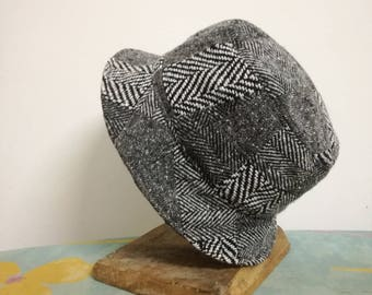 Patchwork woman's hat