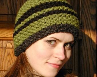 3 Quick Knit Hats  Pdf knitting pattern