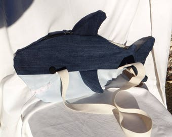 Original jeans - sweet white shark bag