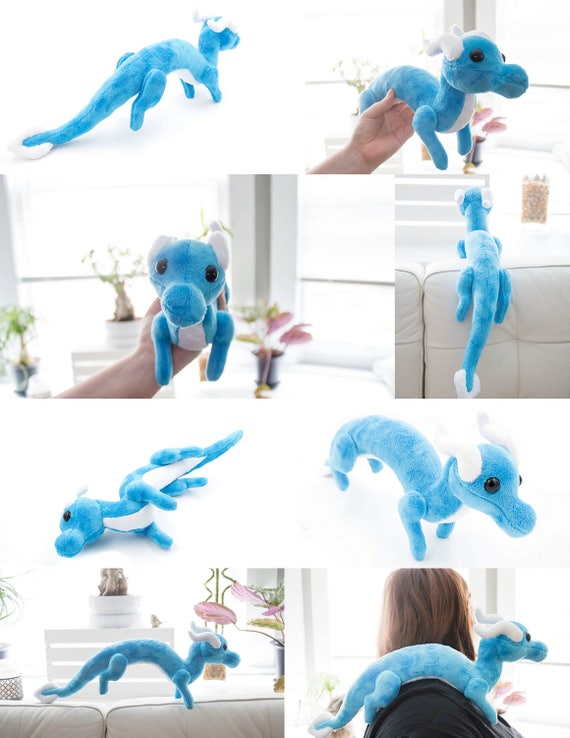 Shoulder Dragon Plush Sewing Pattern, Plush Toy Pattern, Costume ...