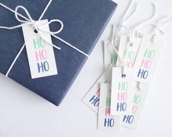 Ho Ho Ho – Letterpress Gift Tags