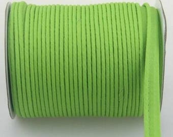 Apple green piping by the yard