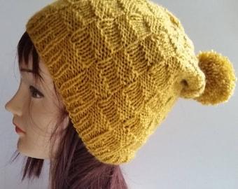 Wool Cap Winter Hat clips earrings-rasta-Hat-Slouchy Beanie Hat-mixed Warm hat winter Hat