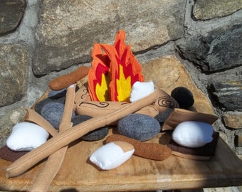 New Low Price Limited  Time Only  Childrens  Campfire for 2 Pretend Play Teepee, Teepee toy  Pretend Food  Photo Prop Gift Pretend Play