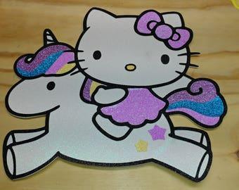 Hello kitty unicorn sparkly unicorn party