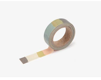Tape printed Korean washi tape  for scrapbooking, decorations (15mm x 10m)
