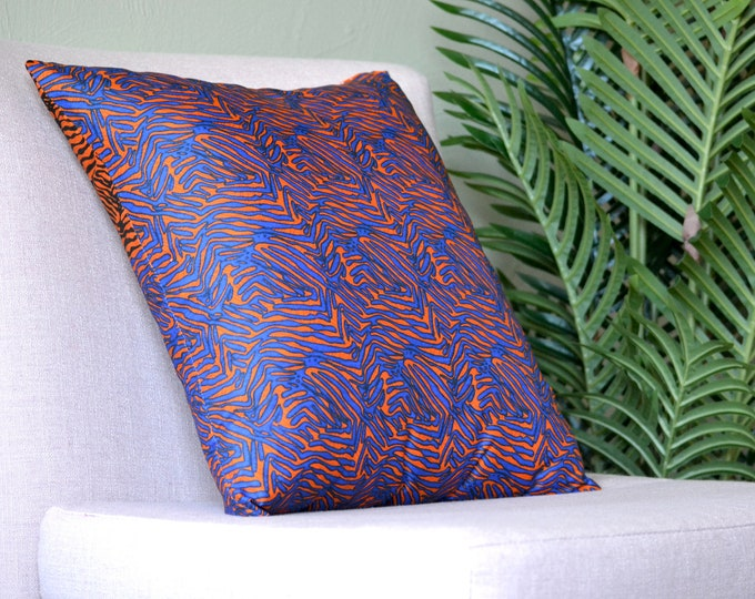 Ila // Ankara Throw Pillow Cover // African Print // 18 x 18