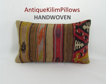kilim pillow home decor lumbar pillow cover turkish pillow decorative pillows bedding bedroom decor pillows 001358 Mothers Day Gift For Mom