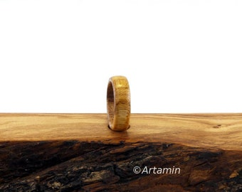 Elm Wood Ring