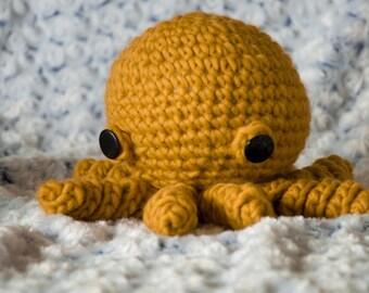 Saffron the Octopus