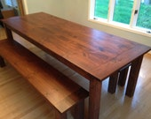 Early American Farm Table...