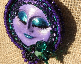 Purple Lady Necklace #NF3531
