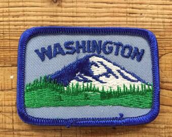 Washington State Souvenir Travel Patch