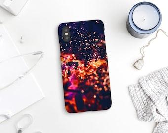 Fire iPhone case, Fireplace photography, iPhone 8 Plus case, iPhone 7, Google Pixel 2, Samsung S9, Galaxy S7 Edge, Samsung S8 Plus. UL082