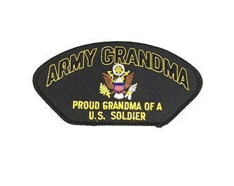 US Army Grandma Proud Grandma of a US Soldier Patch