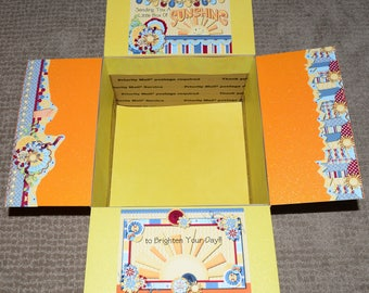 Care Package Kit - LDS Missionary 'Box of Sunshine' - INSTANT DOWNLOAD