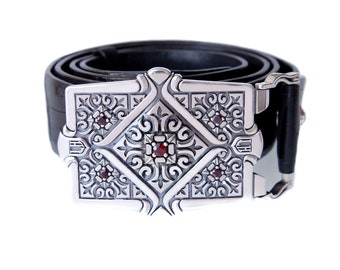 """Silver Buckles """"Elect"""" for men"""