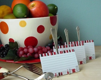Fork Easel with Recipe Card Bundle