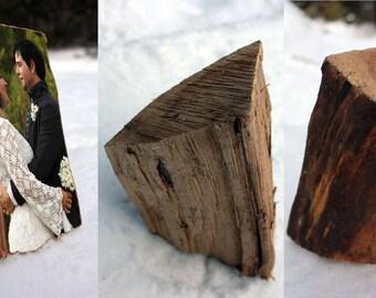 Wood Photo Art - Unique Customized Sculpture - Small