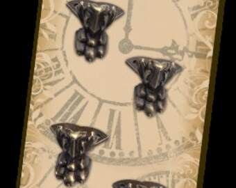 CLAW FEET EMBELLiSHMENTS ~ Miniatures  from GRAPHiC 45 Staples - New Item !