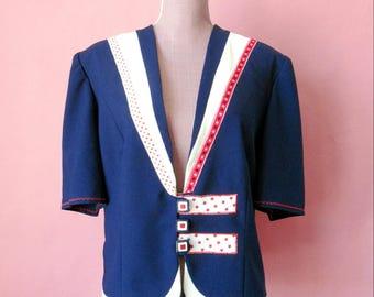 Custom Navy blazer