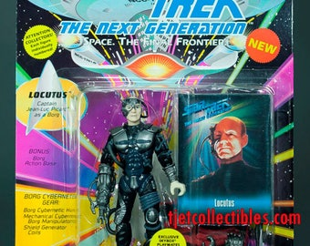 Star Trek The Next Generation Locotus Action Figure Playmates 1993