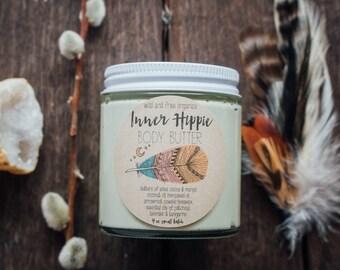 Inner Hippie Body Butter (Patchouli, Lavender, Tangerine) 4 oz