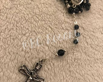 Catholic Montana Blue Rosary