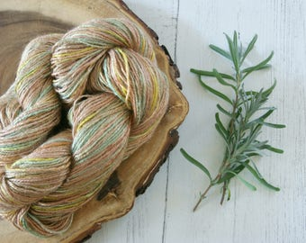 Bamboo Yarn 100g - DK Double Knit Autumn Bamboo - Hand Dyed with Natural Dyes