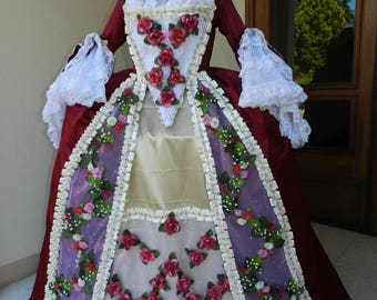 Large 18 century dress Marie-Antoinette 18th century