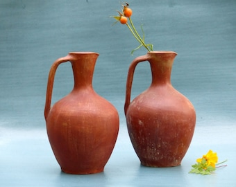 Ceramic jug fired vintage-