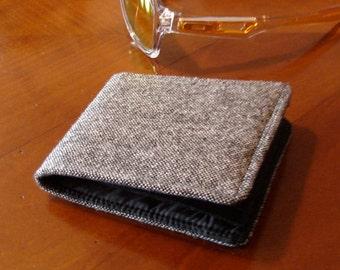 Mens wallets -7 pocket billfold  water resistant  fits all bills - made to order