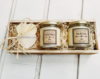 Scented Soy Candle Gift Set, Luxury Candle Gift Set, Scented Soy Candles, Handmade Candles, Candle Gift Sets, Candle Gift Basket