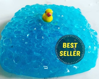 Bubble Bath Slime | Scented Slime | Fishbowl Slime | Yummy Slimery