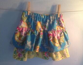 Handmade ruffle skirt- jennifer paganelli good company