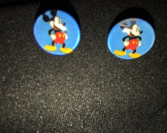 Mickey Mouse Stud Earrings  A32