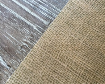 Edible Burlap Shabby Chic Western Pattern on Edible Wafer Paper