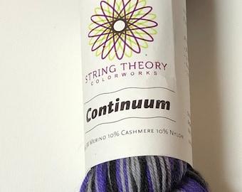 Destash - String Theory Colorworks - Fluorite - 80/10/10 SW Merino/Cashmere/Nylon