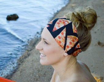 Pizza Party   Yoga Headband   Workout Headband   Fitness Headband   Running Headband   Wide Headband   Pilates Headband   Barre Headband