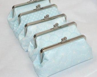 Light Blue Clutch ~ Blue Handbag ~ Blue Retro Purse ~ Blue Wedding Purse ~ Powder Blue Handbag