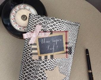 TEACHER gift idea: book message