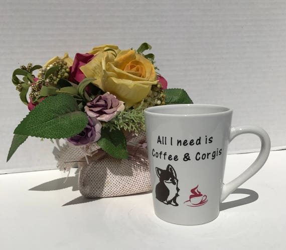 corgi coffee mug corgis and coffee pembroke welsh corgi