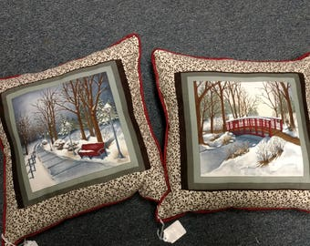 Town Square Pillows