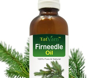 100 % Uncut, Undiluted, Pure, Natural Fir Needle Essential Oil For Aromatherapy