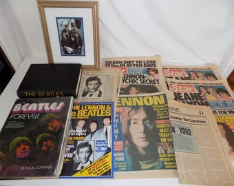 Collection of Beatles Memorabilia