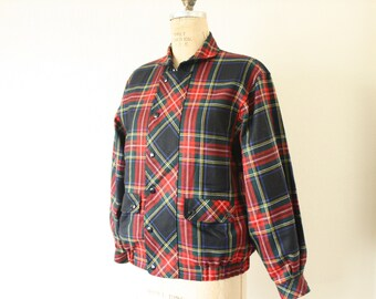 The Perfect Winter PLAID Jacket