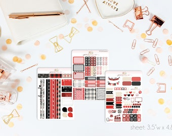 Comfort & Joy MINI Weekly Kit // 130+ Matte Planner Stickers // Perfect for your Personal Planner // WKM0900
