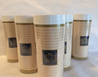 Set of 7 West Bend Therm Serv Tumblers